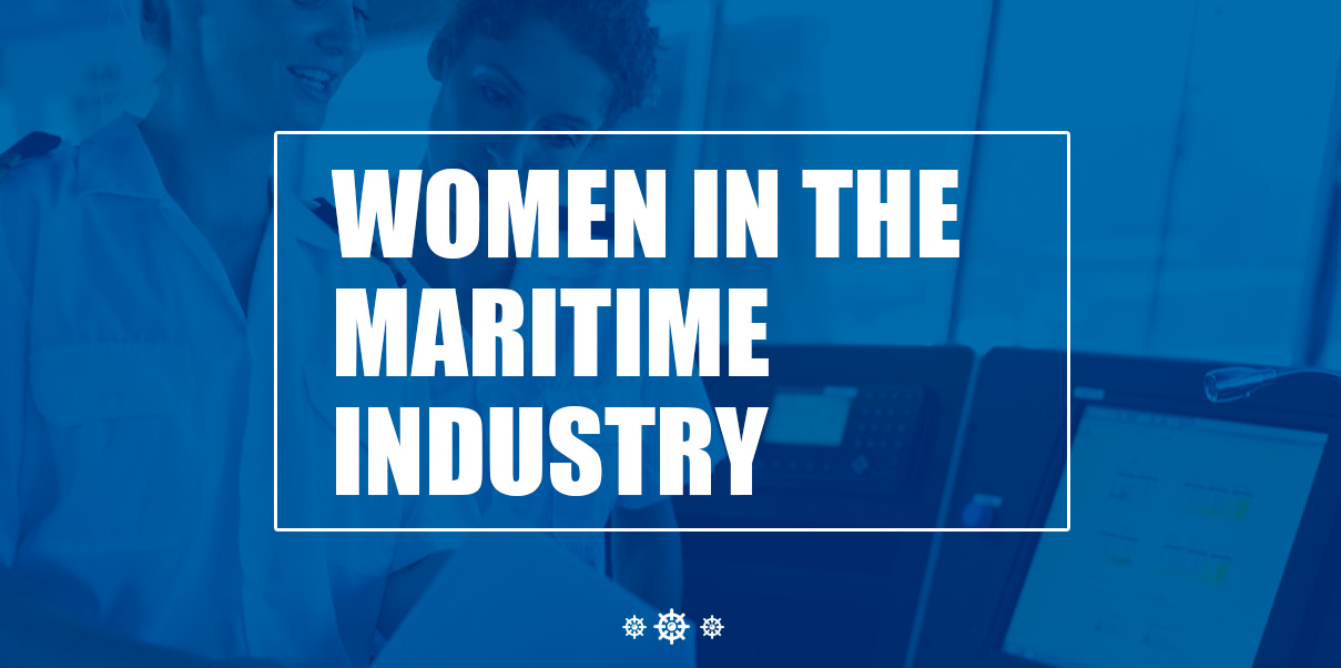 women with careers in the maritime industry