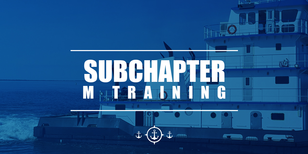 subchapter m training guide