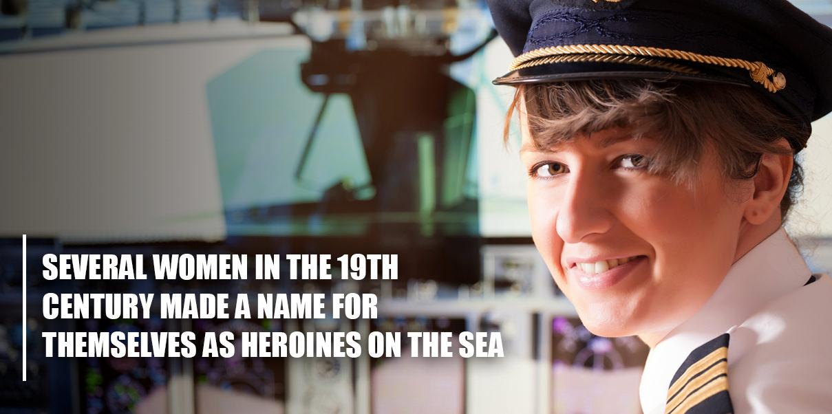 woman maritime officer