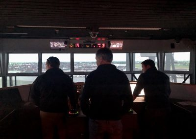 Pilots on the bridge of a ship
