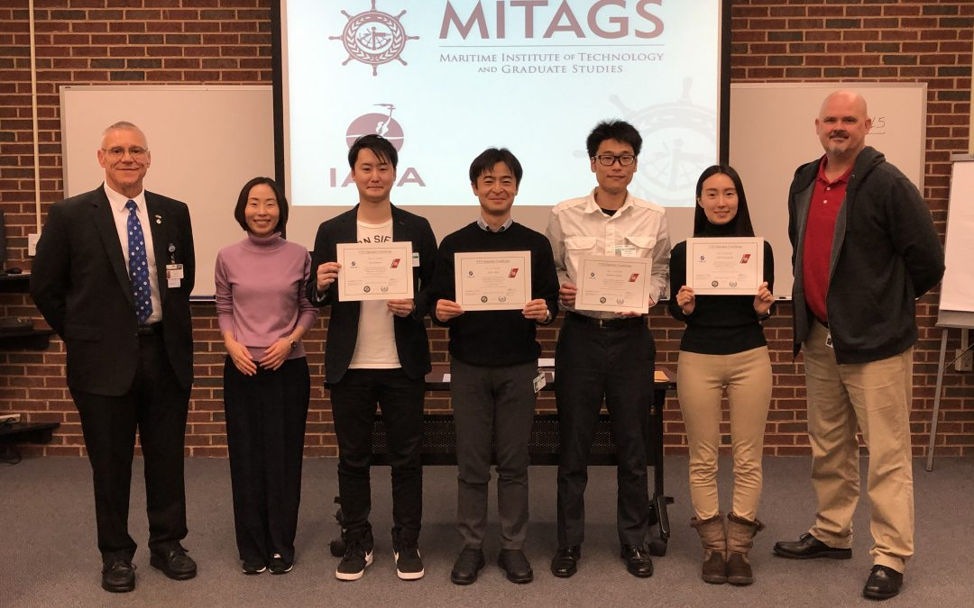 MITAGS Hosts Additional Group of TST Corporation Employees for Coast Guard VTS Training Program