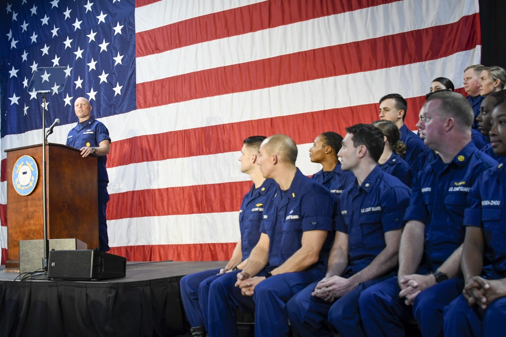 Coast Guard Commandant delivers State of the Coast Guard address in Charleston
