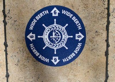Wide Berth Sticker