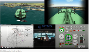Vessel operational research simulation
