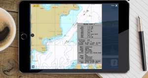 NAV-SAFE digital tool from iPad view