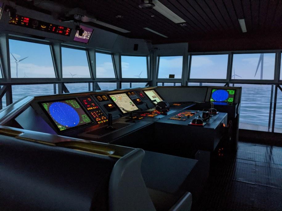 MITAGS bridge simulator