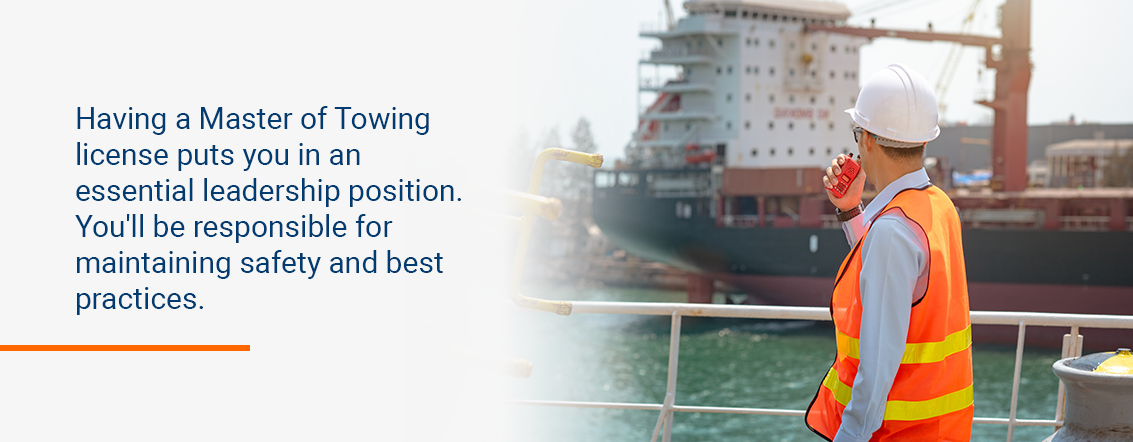 Duties of a Master of Towing Vessels